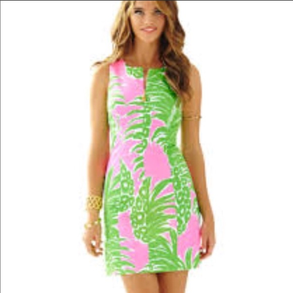 2d90678f2660 Lilly Pulitzer Dresses & Skirts - Lilly Pulitzer Pineapple dress
